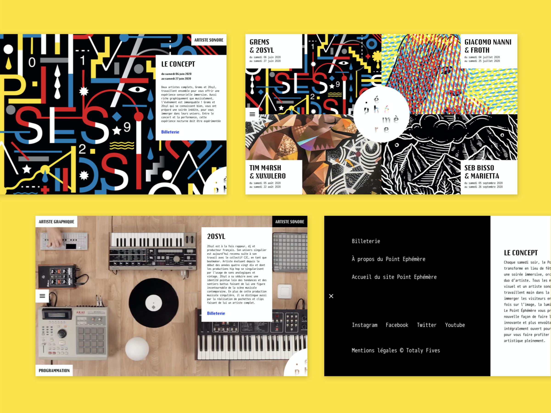 point-ephemere-site-web-design